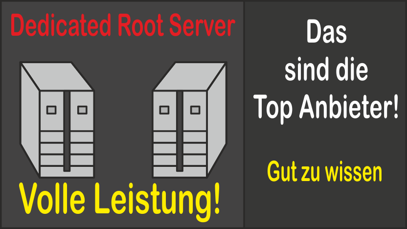 Top Anbieter von Dedicated Root Server