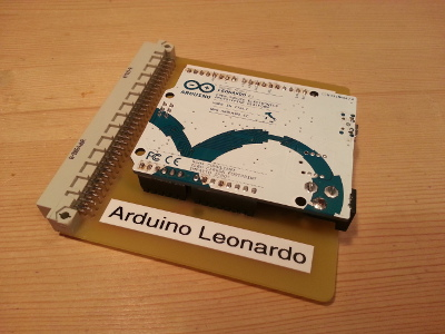 Adapter for the Arduino Leonardo with board