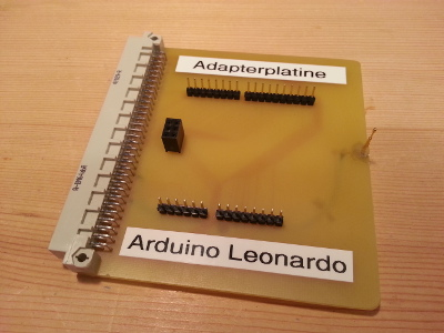Adapter for the Arduino Leonardo