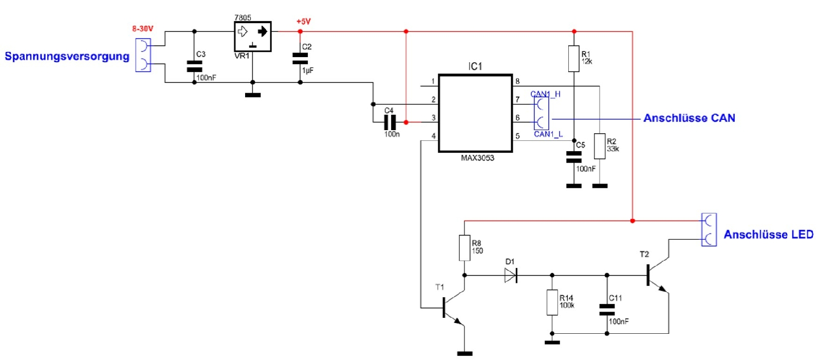 circuit diagram CAN
