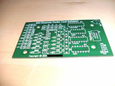 CNC milling machine electronic board