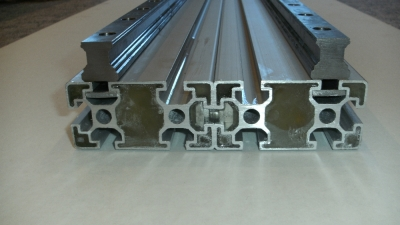 aluminium profiles with linear bearings