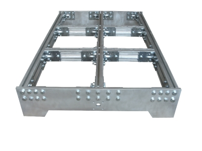 CNC milling machine basic frame top
