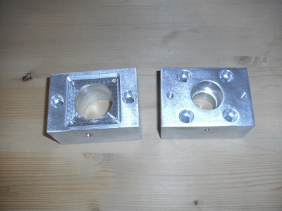 CNC milling machine bearings