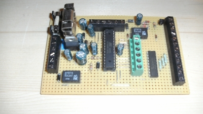 circuit board roller blind control electronic