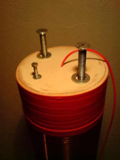 Tesla secondary coil