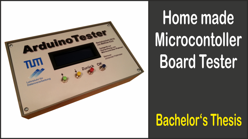 Home made Microcontroller Board Tester