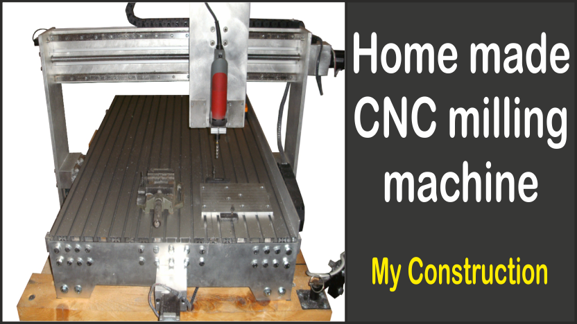 Home made CNC milling machine